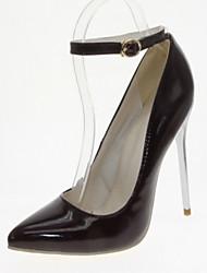 Femme Chaussures à Talons Confort Semelles Légères Similicuir Polyuréthane Eté Automne Mariage Décontracté Habillé Soirée & Evénement