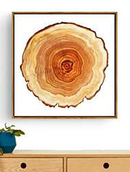 A fleurs/Botanique Art 3D Encadré Art mural,PVC Matériel Marron Sans Passepartout Avec Cadre For Décoration d'intérieur Cadre Art