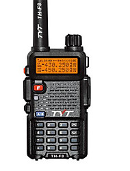 Tyt th-f8 walkie talkie tyt uhf vhf rádio bidirecional rádio de presunto walkie talkie