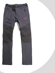 Homens Calças de Softshell Proteção UV A Prova de Vento Vestível Respirável Calças para Correr Casual S M L