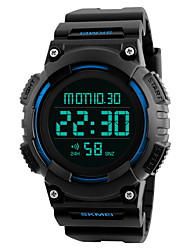 Муж. Спортивные часы Наручные часы электронные часы Китайский Цифровой LCD Календарь Защита от влаги С двумя часовыми поясами тревога