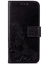 Lucky Four-Leaf Clover Embossed With A Case of Mobile Phone for The iPhone Series