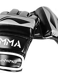 Luvas para Treino de Box para Taekwondo Boxe Sanda Luvas e Mãos Anti-Shake Almofadado Anti-Roupa Terylene