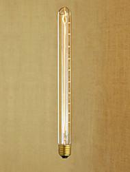 AC220 -240 T26-300 E27 40W Edison  Retro Flute Test Tube Retro Decorative Bulb V1PCS