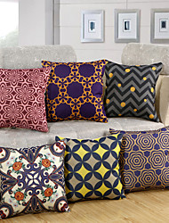 11 Design High Quality Cotton/Linen Printing Pillow Cover European Style Pillow Case