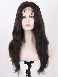 Top Quality Natural Long Straight Synthetic Hair for Women Heat Resistant Glueless Half Hand Tied Fiber Lace Front Wigs