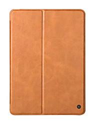 Caso del cuero genuino para el nuevo ipad 2017 de la manzana liberan la cubierta elegante del estallido de la piel del tirón del folio del