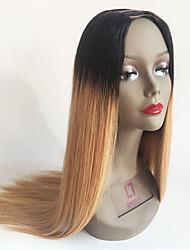 T1b/27 Blonde Ombre Lace Wigs Human Hair Two Tone Ombre U Part Wigs For Black Women Brazilian Virgin Hair U Shaped Wig