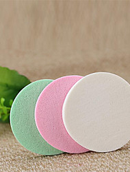 20 Slices Of Natural Sponge  Puff Powder Puff Random color