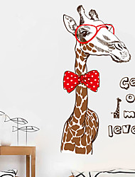 Home Quote Wall Stickers Art Room Removable Decals Diy Fashion Giraffe Wall Stickers For Home Decoration