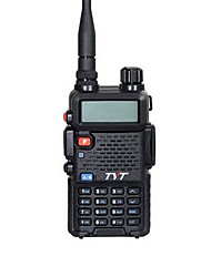 Tyt th-uvf8 walkie talkie 5w vhf uhf 136-174400-480mhz 256ch dtmf 8 grupo scambler fm rádio dual band dual display dual standby rádio