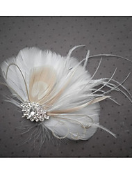 Hand Made Wedding Feather Hair Fascinator Headpieces Fascinators Headbands Hair Accessories Feather Wigs Accessories For Women 061