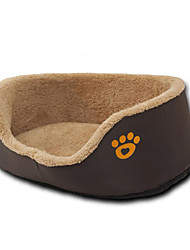 Dog Bed Pet Mats & Pads Footprint/Paw Warm Breathable Thick Durable Comfortable
