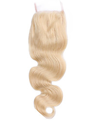 lace closure 4*4 high quality #613 Body wave beautiful human hair for women