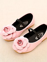 Girls' Flats Comfort Flower Girl Shoes Ankle Strap Light Soles  Summer Fall Casual Dress Comfort Flower Girl Shoes Ankle Strap