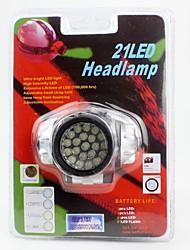Lanternas de Cabeça LED Lumens 1 Modo LED Baterias não incluídas Fácil de Transportar para Campismo / Escursão / Espeleologismo Uso