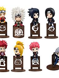 Las figuras de acción del anime Inspirado por Naruto Naruto Uzumaki PVC 10 CM Juegos de construcción muñeca de juguete