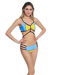 Da donna All'americana Bikini Monocolore Monocolore