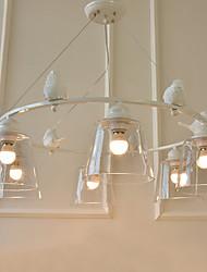 Luzes Pingente ,  Contemprâneo Tradicional/Clássico Pintura Característica MetalSala de Estar Quarto Sala de Jantar Quarto de