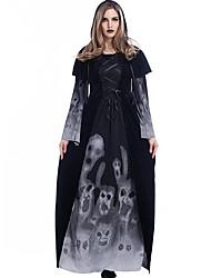 Costumes de Cosplay Sorcier/Sorcière Esprit Vampire Fête / Célébration Déguisement d'Halloween Robe Halloween Noël Carnaval Nouvel an