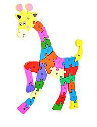 Jigsaw Puzzles DIY KIT Building Blocks DIY Toys Animal Wooden