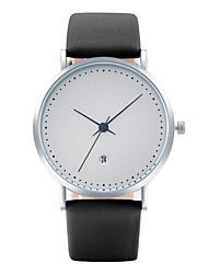 Masculino Mulheres Relógio de Moda Relógio de Pulso Relógio Casual Chinês Quartzo Calendário PU Banda Legal Casual ElegantesPreta Azul