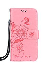 Для яблока iphone 7 7 плюс 6s 6 плюс se 5s 5 4s чехол для крышки бабочка любовь цветок муравей назначение шаблон рельефный глянцевый pu