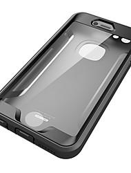 Pour Apple iphone 6s plus le couvercle du boîtier de l'eau / de la saleté / du choc tout le corps du corps solide pc dur 6 plus 6s 6