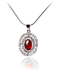 Women's Pendant Necklaces Jewelry Jewelry Crystal Alloy Unique Design Euramerican Fashion Jewelry ForWedding Party Birthday