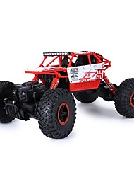 RC Car CR 2.4Ghz 1/18 RC Rock Crawler Vehicle Buggy Car 4 WD Shaft Drive High Speed Remote Control Monster Truck Off Road Cars RTR
