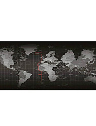 Big World Map Mouse Pad (30x80x0.2cm)