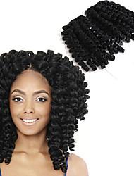Pre-петлевые вязания крючком плетенки Ямайские отскоки волос КитайТемно-рыжий Черный / Клубника Blonde Черный / Medium Auburn Черный /