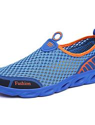 Herren Loafers & Slip-Ons Leuchtende Sohlen Tüll Frühling Sommer Sportlich Wasser-Schuhe Leuchtende Sohlen Flacher AbsatzDunkelblau