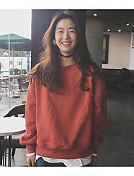 Sweatshirt Femme Col en V