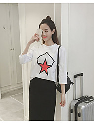 Women's Anniversary Magnetic Cat Eye Summer T-shirt Pant Suits,Solid Round Neck Short Sleeve