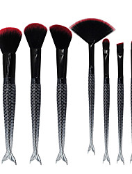Sistemas de cepillo Cepillo para Colorete Pincel para Sombra de Ojos Pincel Delineador Cepillo de Cejas Cepillo de Teñir Cepillo para