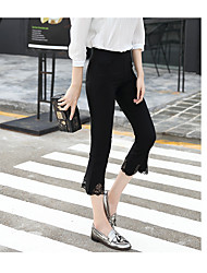 Women's High Waist strenchy Loose Pants,Boho Relaxed Solid