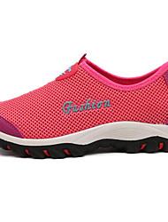 Для женщин Мокасины и Свитер Удобная обувь Оригинальная обувь Кольцевые обувь Тюль Лето ОсеньДля прогулок Для офиса Повседневный Для