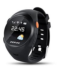 Kinder Smart Uhr digital Caucho Band Schwarz