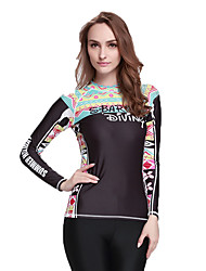 Amazon Wholesale Lady Yoga Clothes Slim Long-Sleeved Diving Suit Quick-Drying Sunscreen Put Jellyfish Split Swimsuit