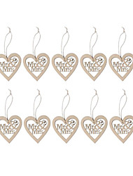 Дерево Свадебные украшения-10piece / Установить Свадьба Для вечеринок Вечерние Обручение Официальные День Святого Валентина День рождения