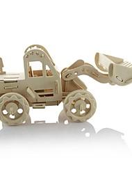 Quebra-cabeças Quebra-Cabeças 3D Blocos de construção Brinquedos Faça Você Mesmo Maquina de Escavar