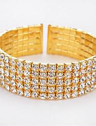 Dámské Tenisové Náramky Módní Circle Shape Šperky Pro Narozeniny Vánoční dárky