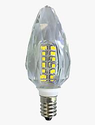 4W Luci LED a candela C35 40 SMD 2835 450-500 lm Bianco caldo Bianco V 1 pezzo