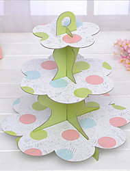 Children's Birthday Party Supplies Paper Products/Multilayer Cake Rack/Paper Folding Cake Rack
