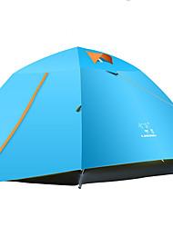 LINGNIU® 3-4 Pessoas Tenda Duplo Barraca de acampamento Tenda Automática Prova-de-Água Térmico/Quente Á Prova-de-Chuva Filtro Solar