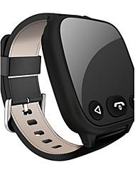 Women's Men's Smart Watch Digital Rubber Band Black