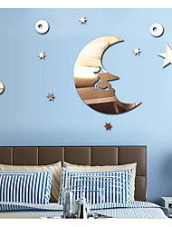 The Stars The Moon Bedroom Mirror Decoration