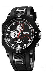 Муж. Модные часы Цифровой Pезина Группа Повседневная Черный