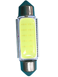 50pcs 3w 41mm feston en coiffeur LED ampoule couleur blanche